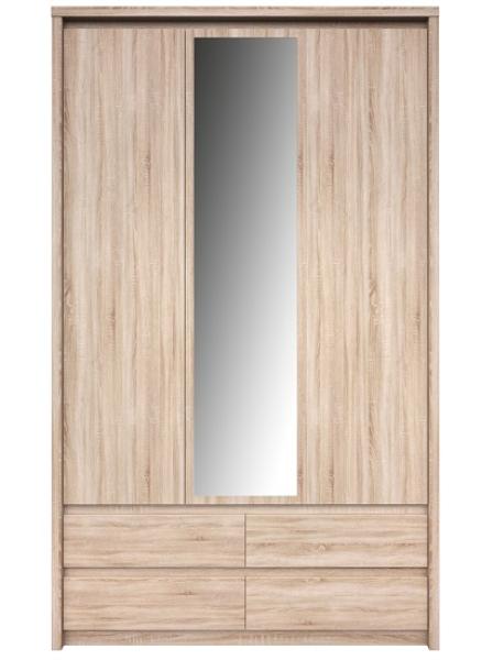 Шкаф с зеркалом NORTON 3d4s