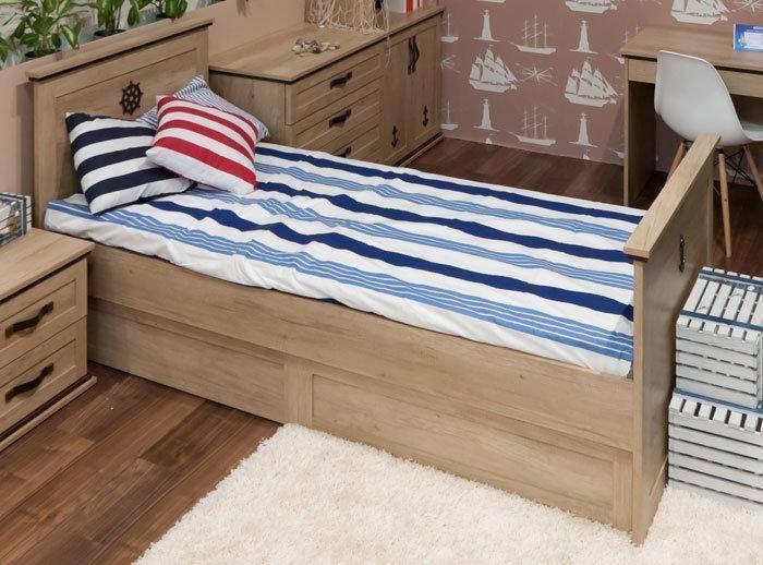 Ліжко Шкіпер 120 см(без ніші)