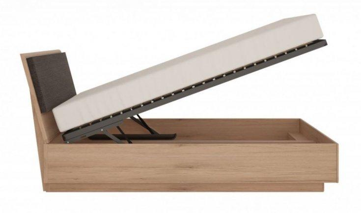 Ліжко 1,6 з підйомним механізмом колекція SUMMER (typ 92)