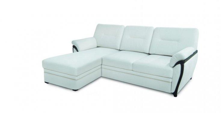 Угловой диван коллекция Лоран с оттоманкой