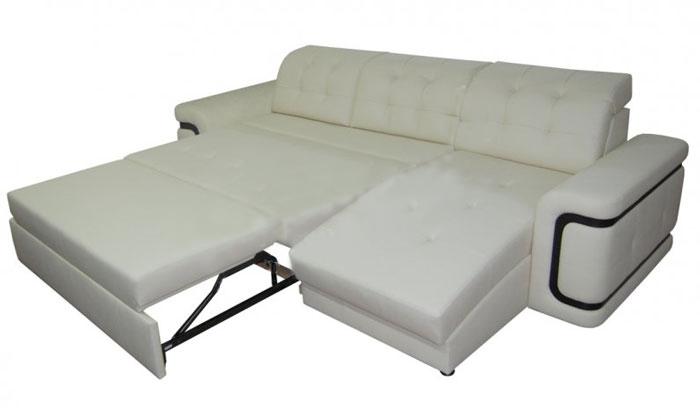 Угловой диван Вегас с оттоманкой