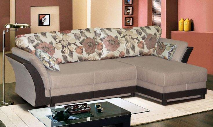 Кутовий диван з отоманкою колекція Венеція