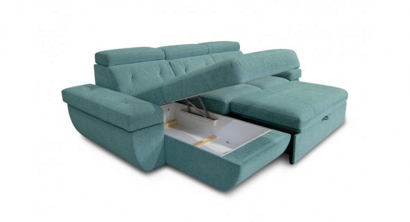 Фото Угловой диван Давос с оттоманкой Угловые диваны
