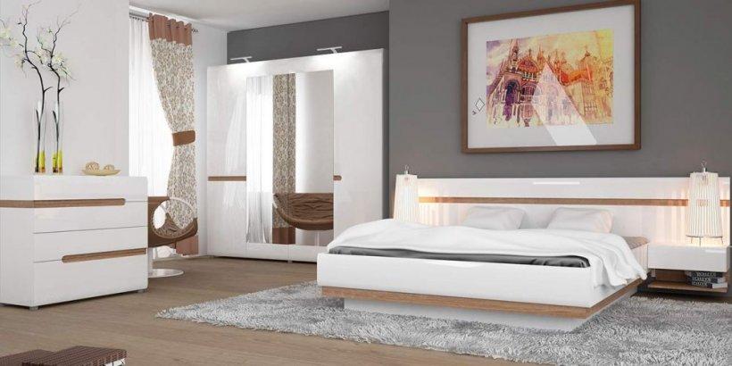 Фото Кровать  LINATE 1,6  (typ92)  Кровати