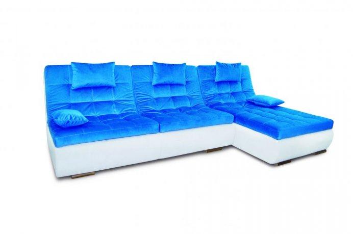 Фото Угловой диван Орландо мини с оттоманкой Угловые диваны