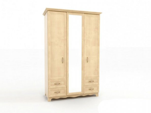 Фото Шкаф-гардероб Прованс ШГ 4-44(Д+З+Д) Прямые шкафы