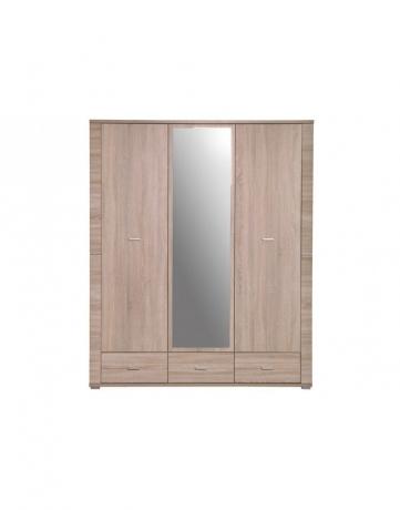 Фото Шкаф с дзеркалом GRESS 3d3s Шкафы